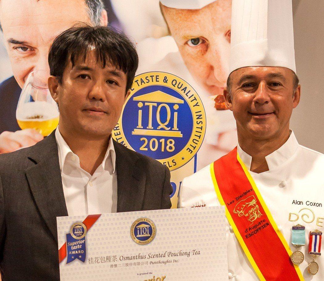 帝鐸的桂花包種茶,在2018年獲頒iTQi風味絕佳獎章。 圖/帝鐸提供