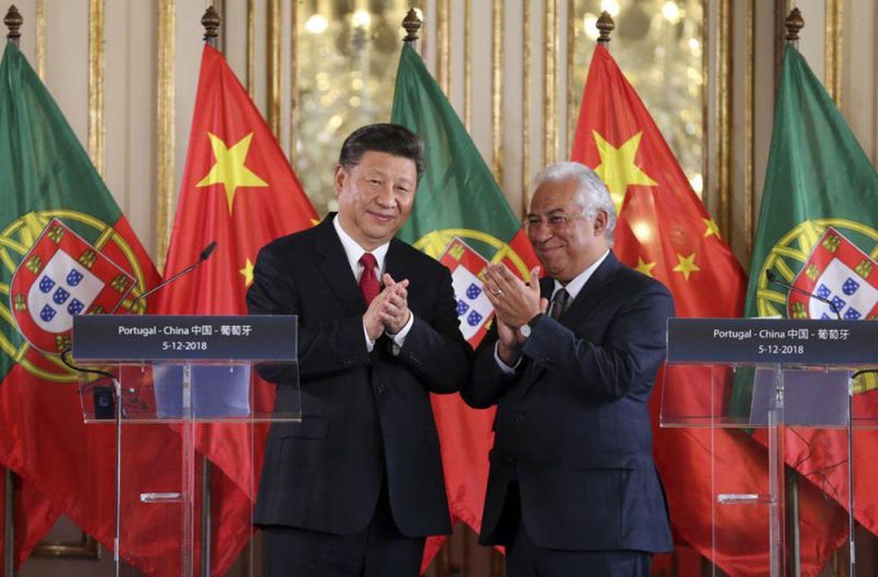 中葡簽備忘錄拓「一帶一路」合作。新華社