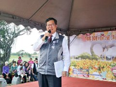 鄭文燦:蔡總統是隊長 賴清德是中繼投手