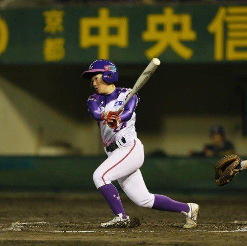 首批加盟日本女子職業棒球聯盟的台灣球員謝鈺瀅,今年球季收穫豐,明年也會續留日本,...