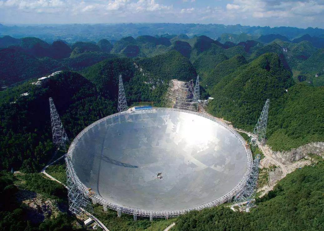 中國大陸在貴州建造世界最大射電望遠鏡「中國天眼」,今傳出將在2019年開始搜索外...