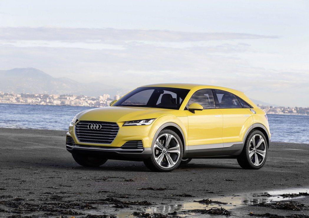 圖為Audi TT Offroad Concept。 摘自Audi