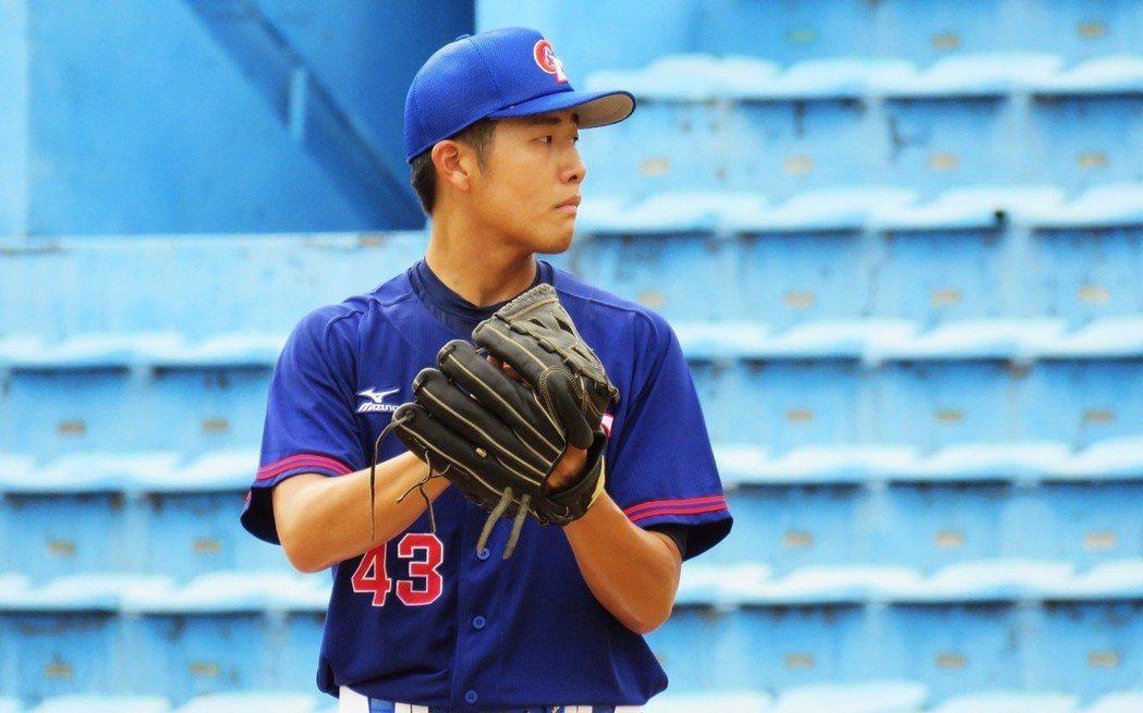 蔡易廷入選世大棒中華隊培訓隊。 圖/蔡易廷提供