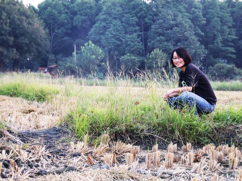 北農前總經理吳音寧回鄉將回歸作家身分,繼續為台灣農業盡心力。 圖/取自吳音寧臉書