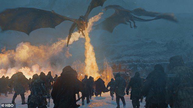 「冰與火之歌:權力遊戲」大戰場面備受讚譽,最終季更會出現電視史上最浩大的戰爭。圖...
