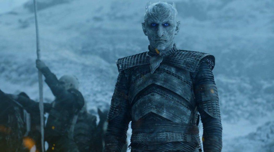 佛拉迪米爾佛狄克在「冰與火之歌:權力遊戲」中飾演夜王,最終季仍有重要戲分。圖/摘...