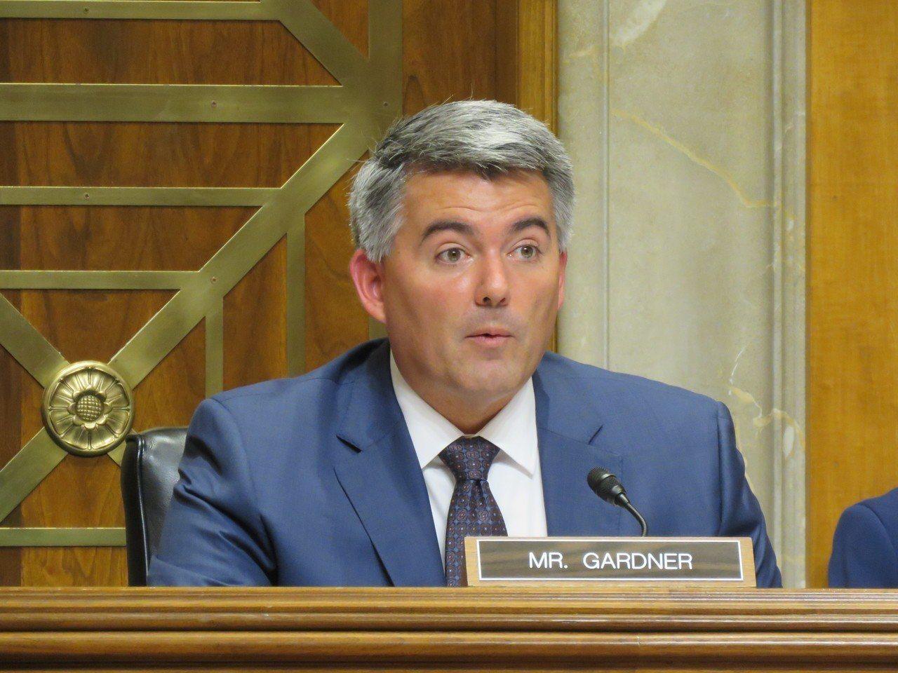 美國參議院外委會亞太小組主席賈德納。報系資料照片/華盛頓記者張加攝