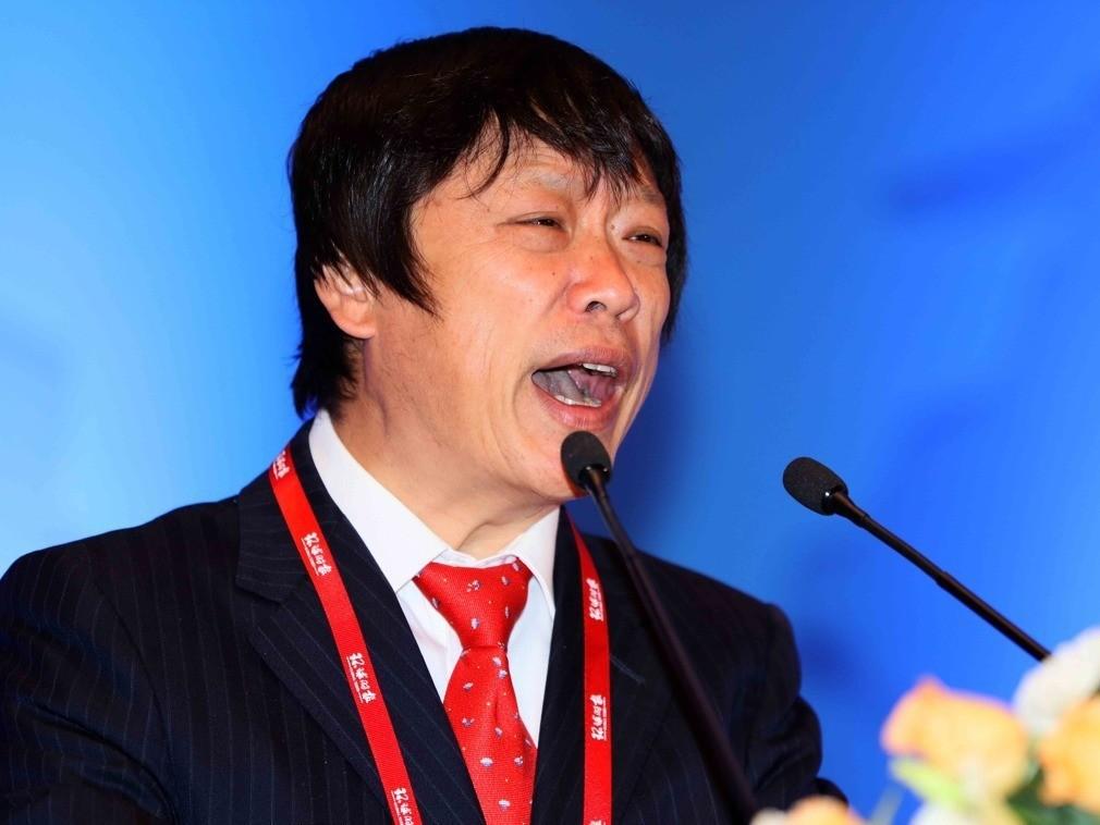 《環球時報》總編輯胡錫進。圖/截自多維網