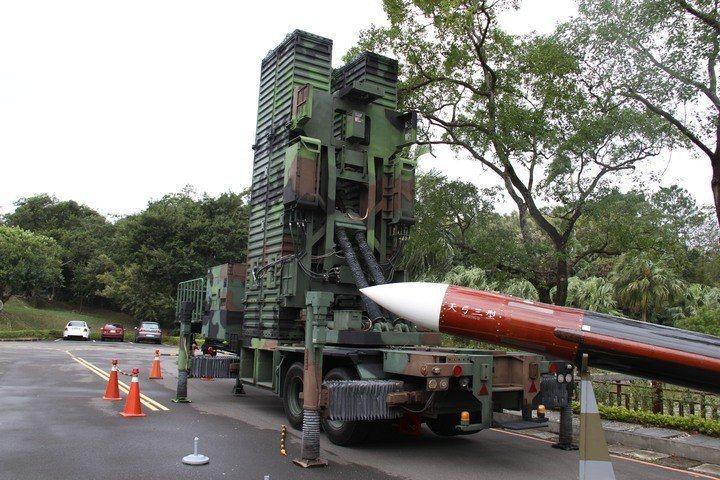 天弓三型防空飛彈。記者洪哲政/攝影