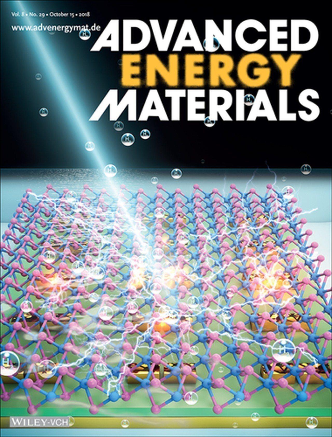 清華材料所嚴大任教授團 隊用「奈米天線」找出更高效率產氫的方法,登上國際頂尖能源...