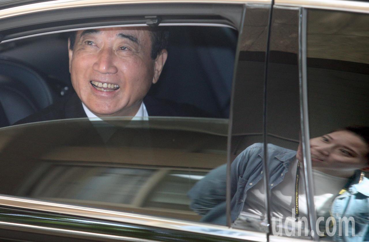 2020選總統,立委王金平上午回應媒體表示,基層聲音雖強烈,但不是他能決定,就隨...