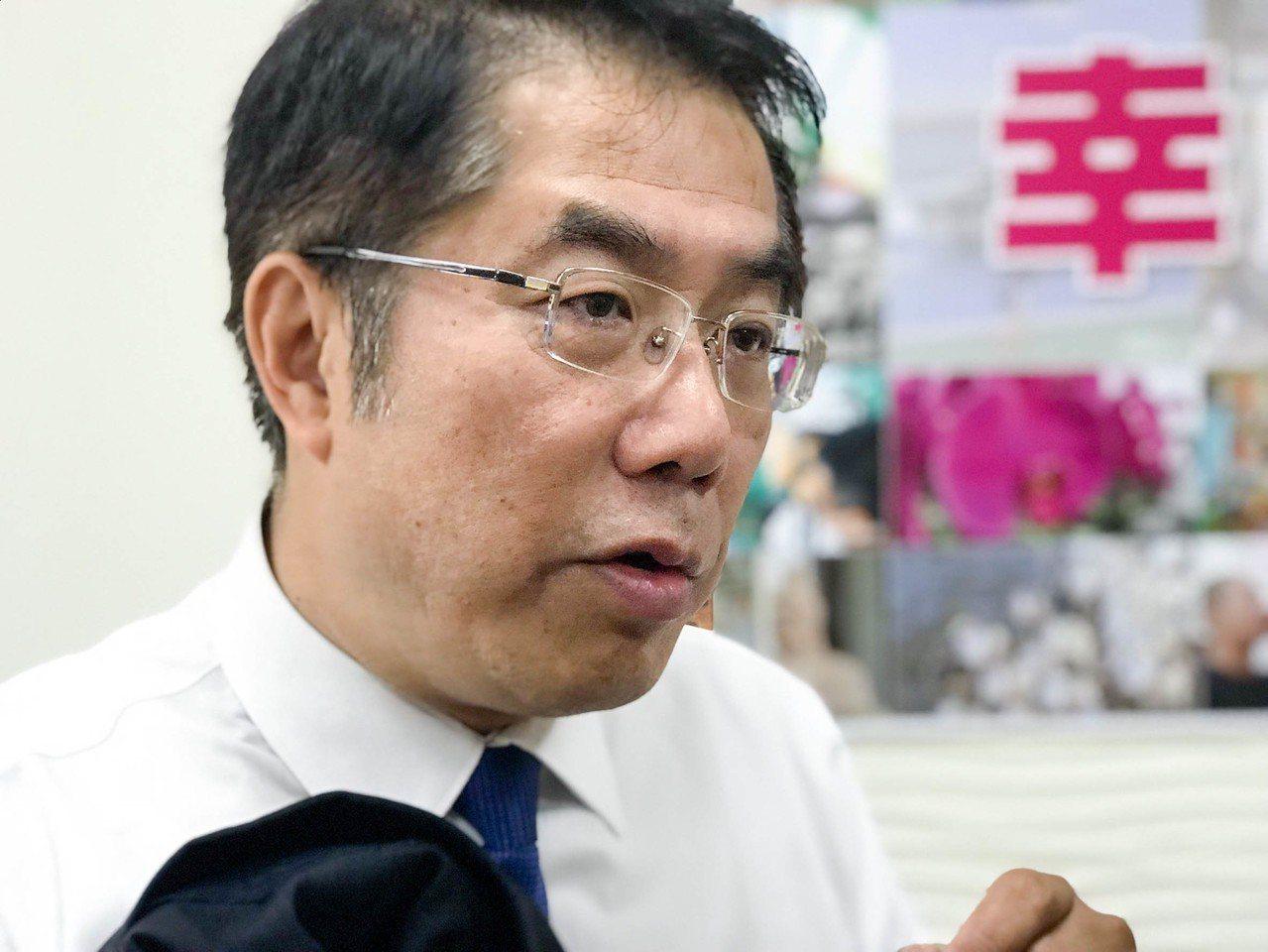 台南市長當選人黃偉哲。記者鄭維真/攝影