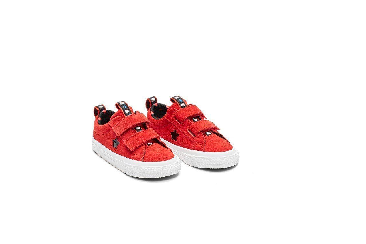 Converse與Hello Kitty聯名系列ONE STAR幼童鞋,1,58...