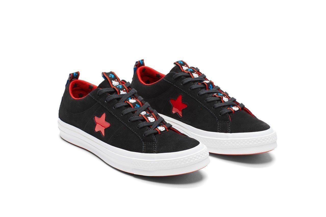 Converse與Hello Kitty聯名系列ONE STAR休閒鞋,2,88...