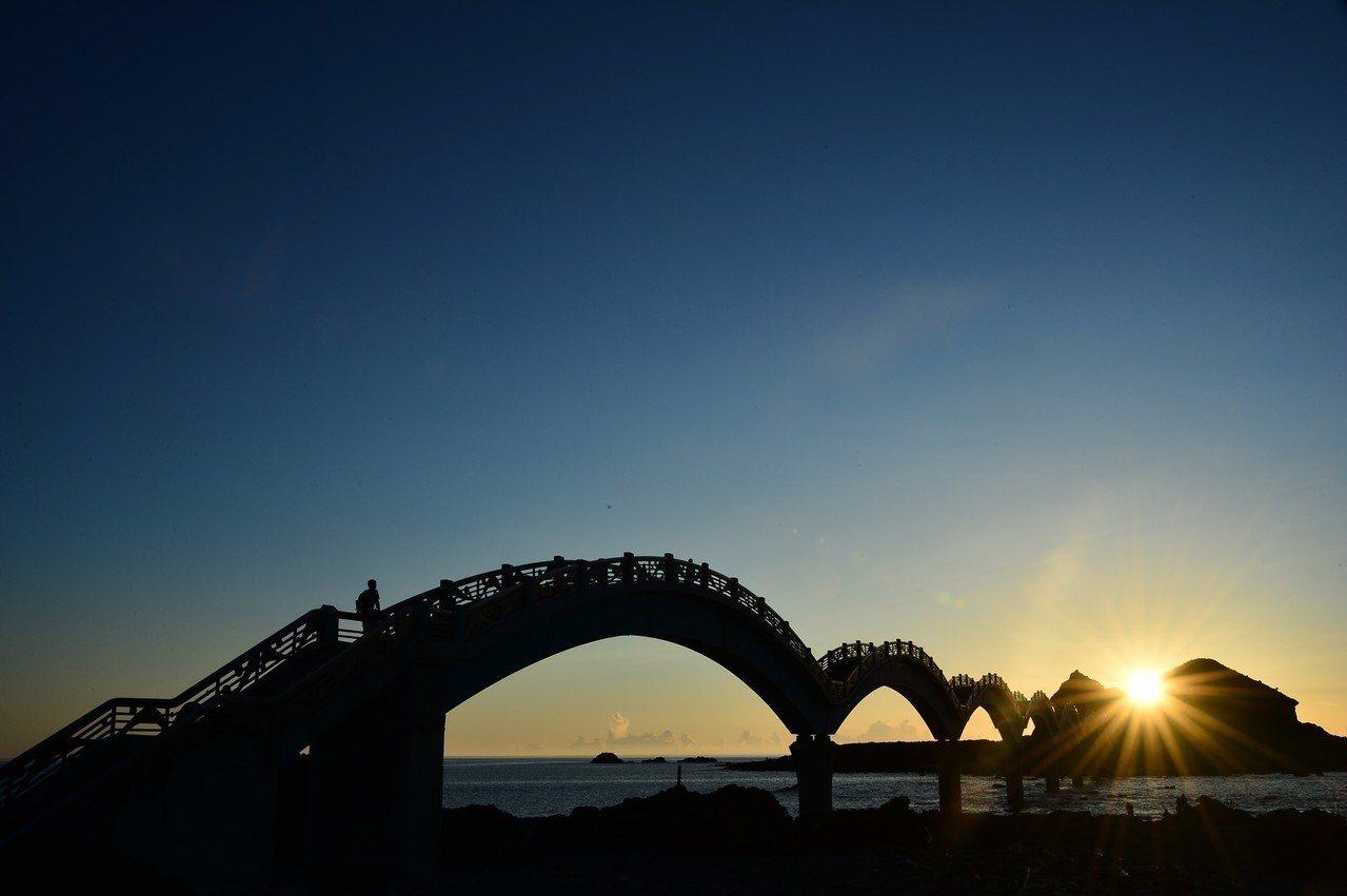 三仙台曙光年年熱門,出遊交通要先備妥。圖/交通部觀光局提供