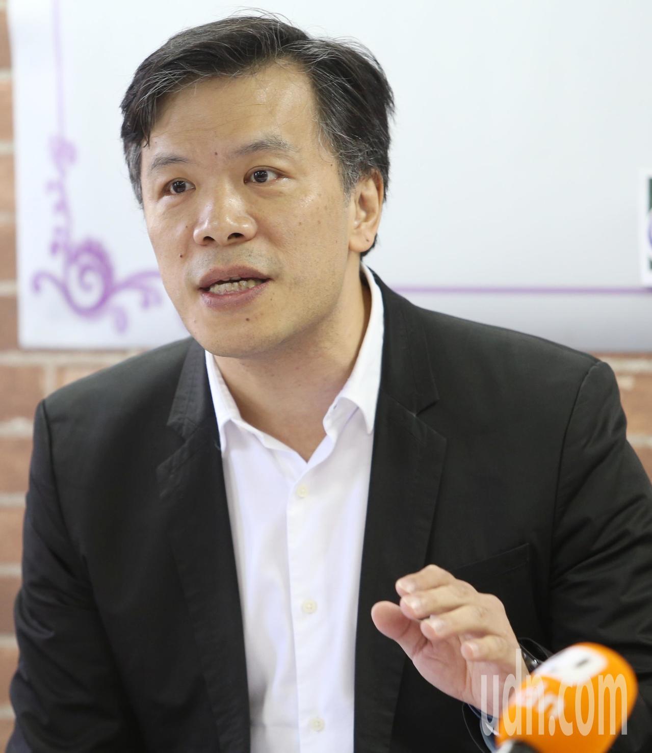 世新大學副校長游梓翔。本報資料照/記者侯永全攝影