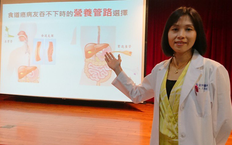 高醫腸胃內科主治醫師吳宜珍表示,食道癌8成與菸、酒、檳榔脫不了關係,且復發率高,...