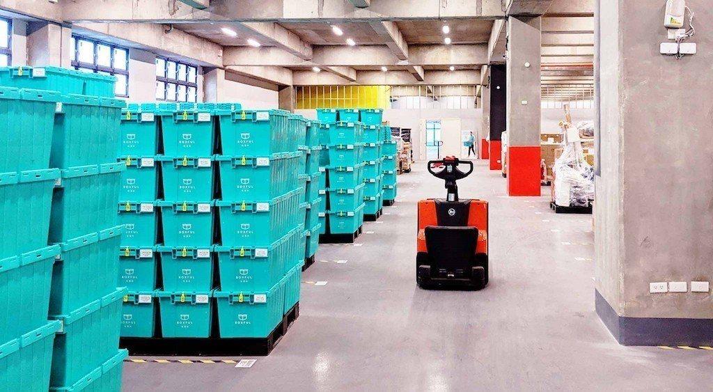 Boxful任意存位於物流共和國的高規格倉儲空間。圖/Boxful提供