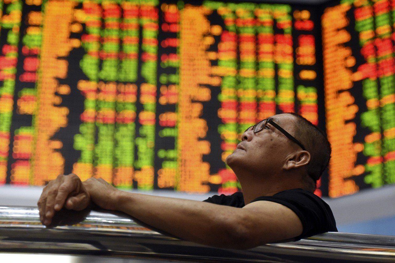全球主要股市本周普遍收紅。 歐新社