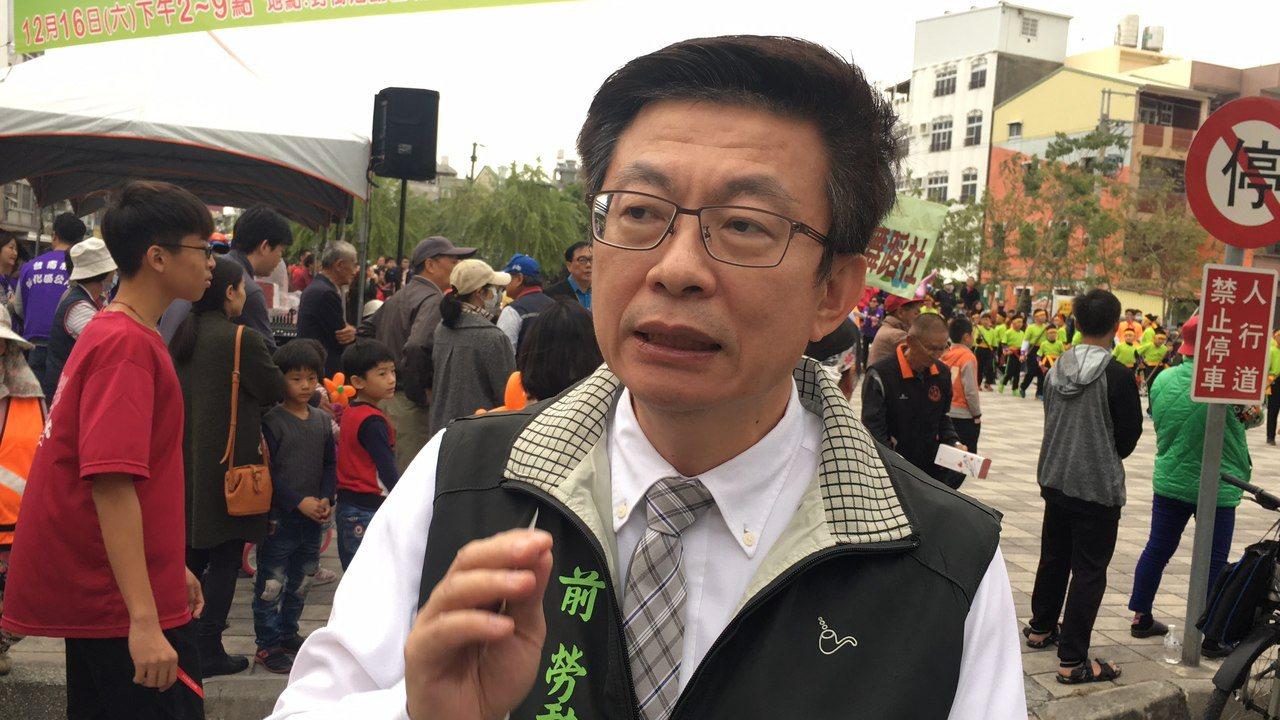 郭國文指出,唯有讓更多新血注入,才能讓民進黨提振與重生,也使民進黨的主張更貼近民...