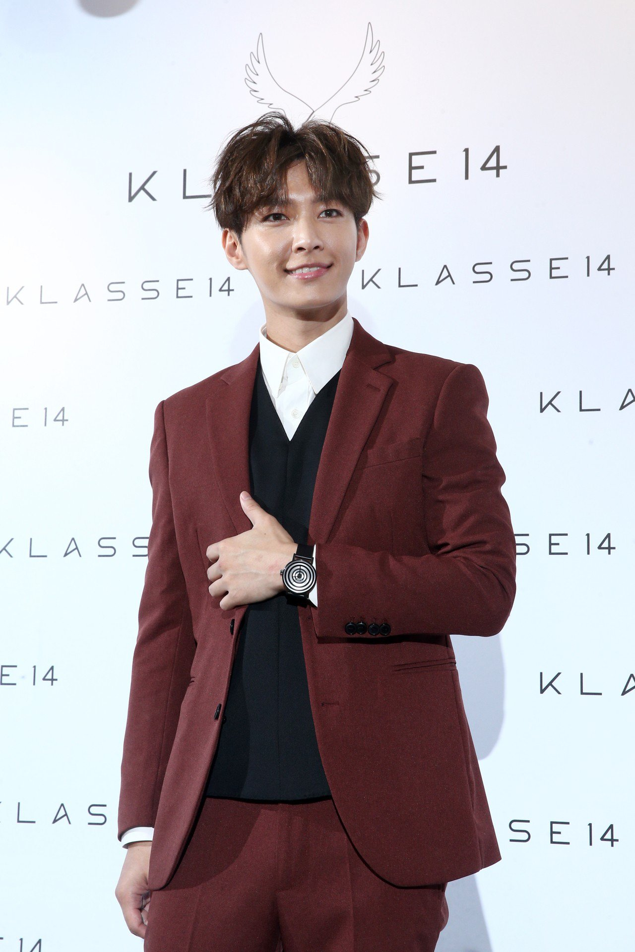 炎亞綸出席KLASSE14首家概念店開幕活動。記者蘇健忠/攝影