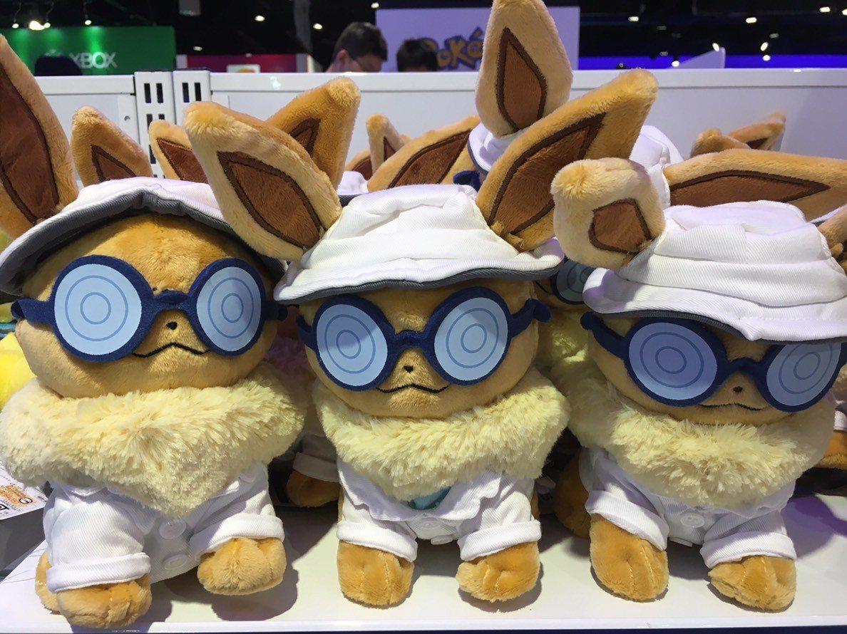 伊布絨毛玩偶也是熱賣商品。圖/三創生活園區提供