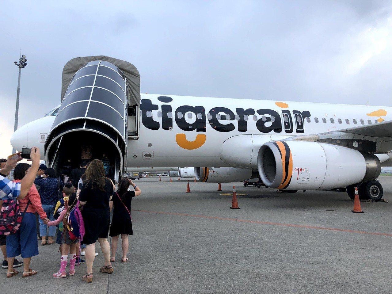 台灣虎航夏季航班早鳥預計12月10日起開賣,將分為三波促銷。記者魏妤庭/攝影