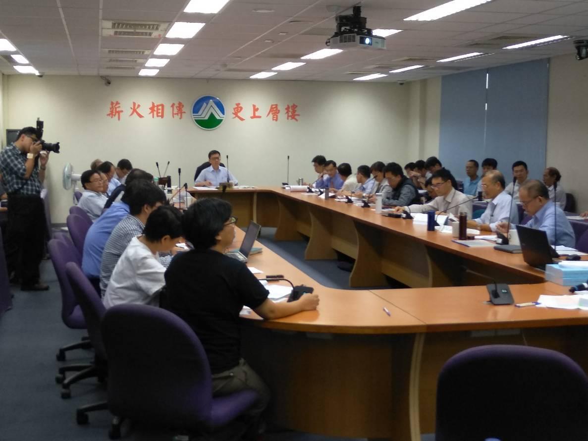 環保署召開「核能一廠除役計畫環境影響評估報告書初稿」專案小組第2次初審會議。 記...