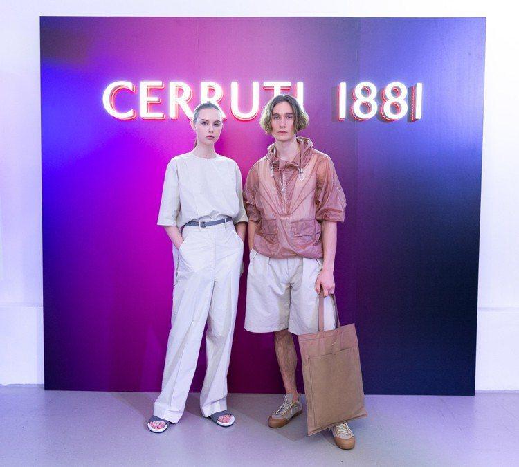 在2019年春夏款式中,Cerruti 1881特別開發了迷你系列,輪廓更簡約又...