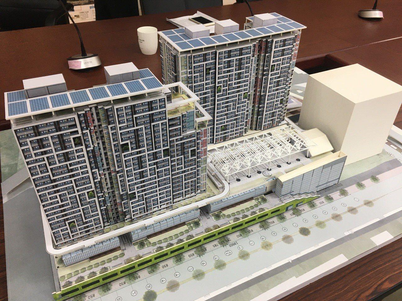 台北市推動公宅政策,遭遇多次流標窘境,其中,位於南港區的「南港機場公宅」將結合循...