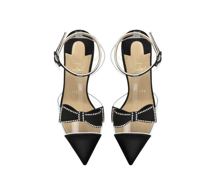 派對系列領結鞋履,售價39,900元。圖/Christian Louboutin...