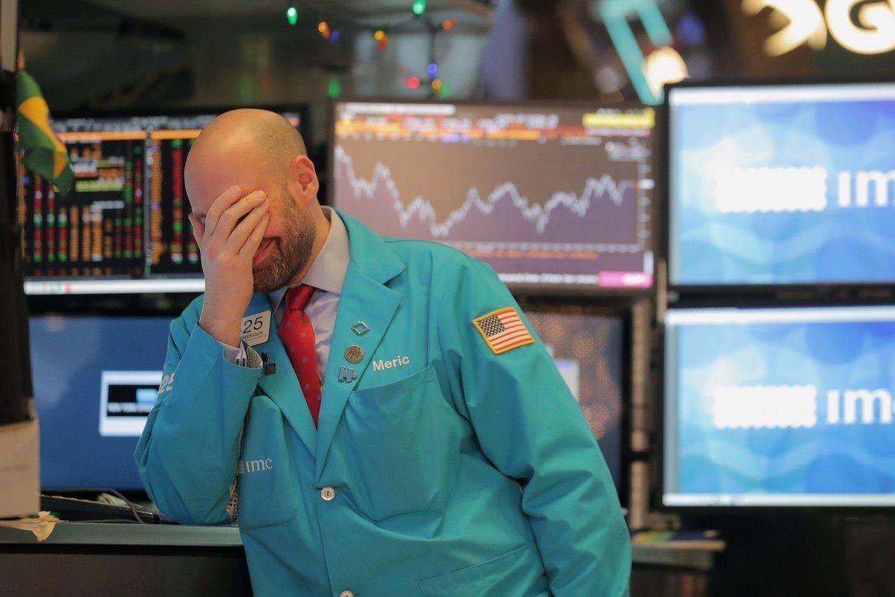 美股單日拋售由機器導致。(圖/路透)