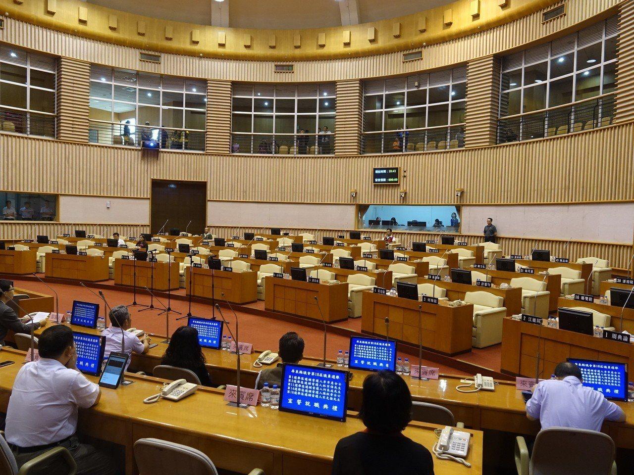 圖為屏東縣議會。圖/報系資料照