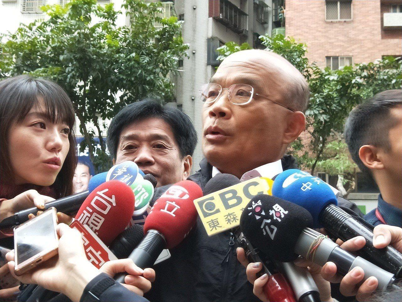 蘇貞昌又被視為閣揆熱門人選。圖/報系資料照