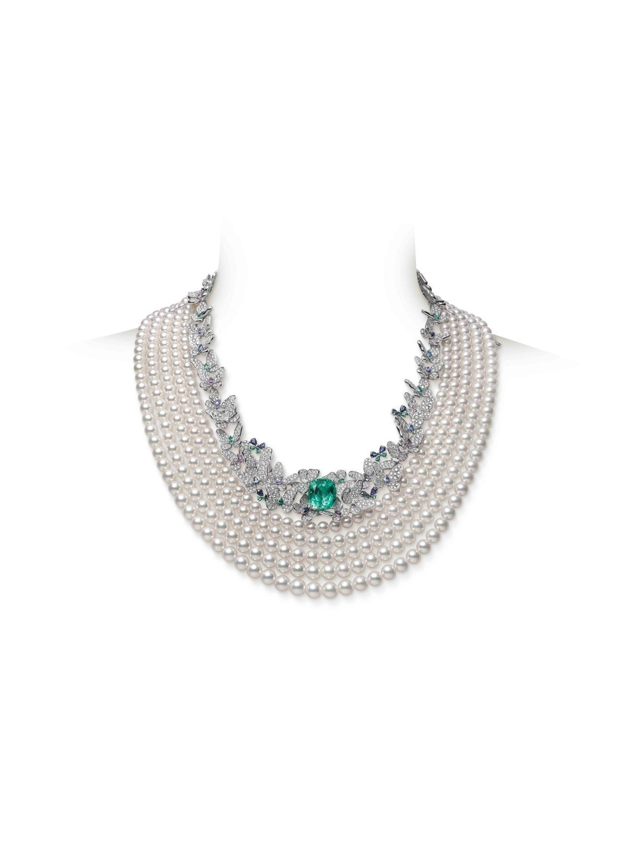 MIKIMOTO Praise to Nature頂級珠寶系列日本Akoya珍珠...