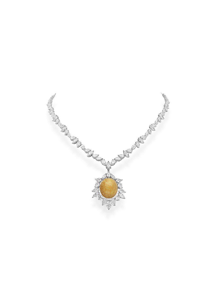 MIKIMOTO Natural Pearl Collection美樂珍珠鉑金鑽...