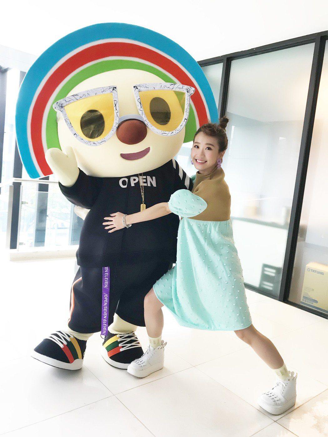 Lulu擔任「OPEN!遊行大使」直呼圓夢。圖/寬寬整合行銷提供