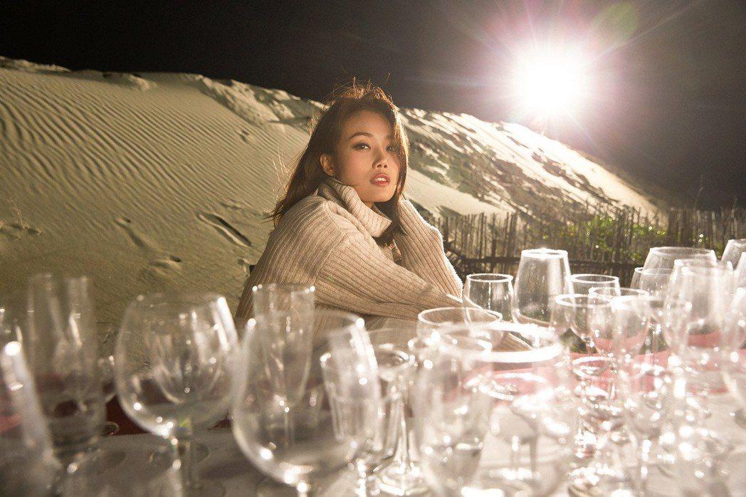 容祖兒拍攝MV畫面唯美,卻吃足苦頭。圖/英皇娛樂提供