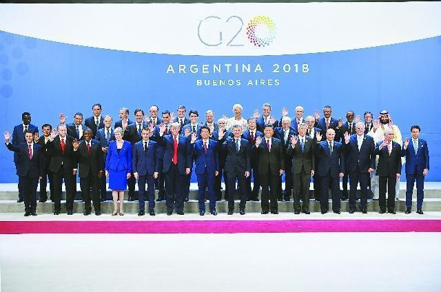 二十國集團(G20)領導人峰會後,中美兩國元首進行會晤。新華網