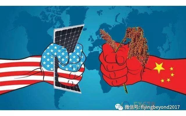 中美貿易戰今年7月開打,關稅懲罰戰火不斷升級。取自楓眼看經濟