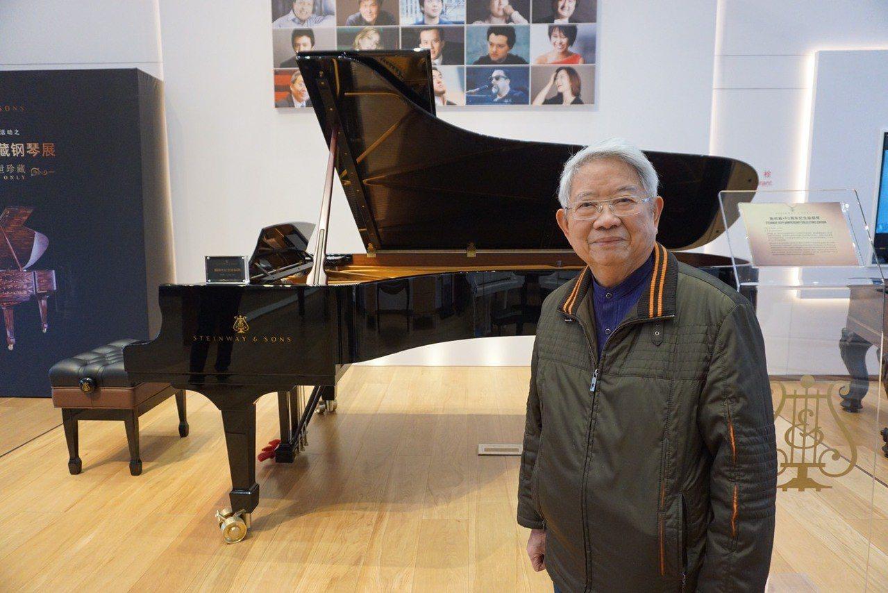 高齡87歲的作曲家蔡盛通有近60年的編、作曲經驗,為國內各大交響樂團和管樂團編曲...