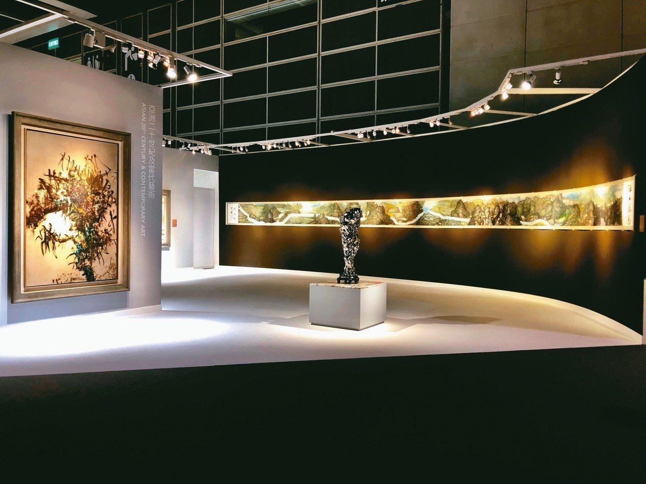 「不凡─宋代美學一千年」專拍,也精選受到蘇東坡《木石圖》影響的當代藝術,有周春芽...