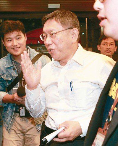 台北市立委補選下周登記,「白綠開戰」箭在弦上,台北市長柯文哲態度成為關鍵角色。 ...