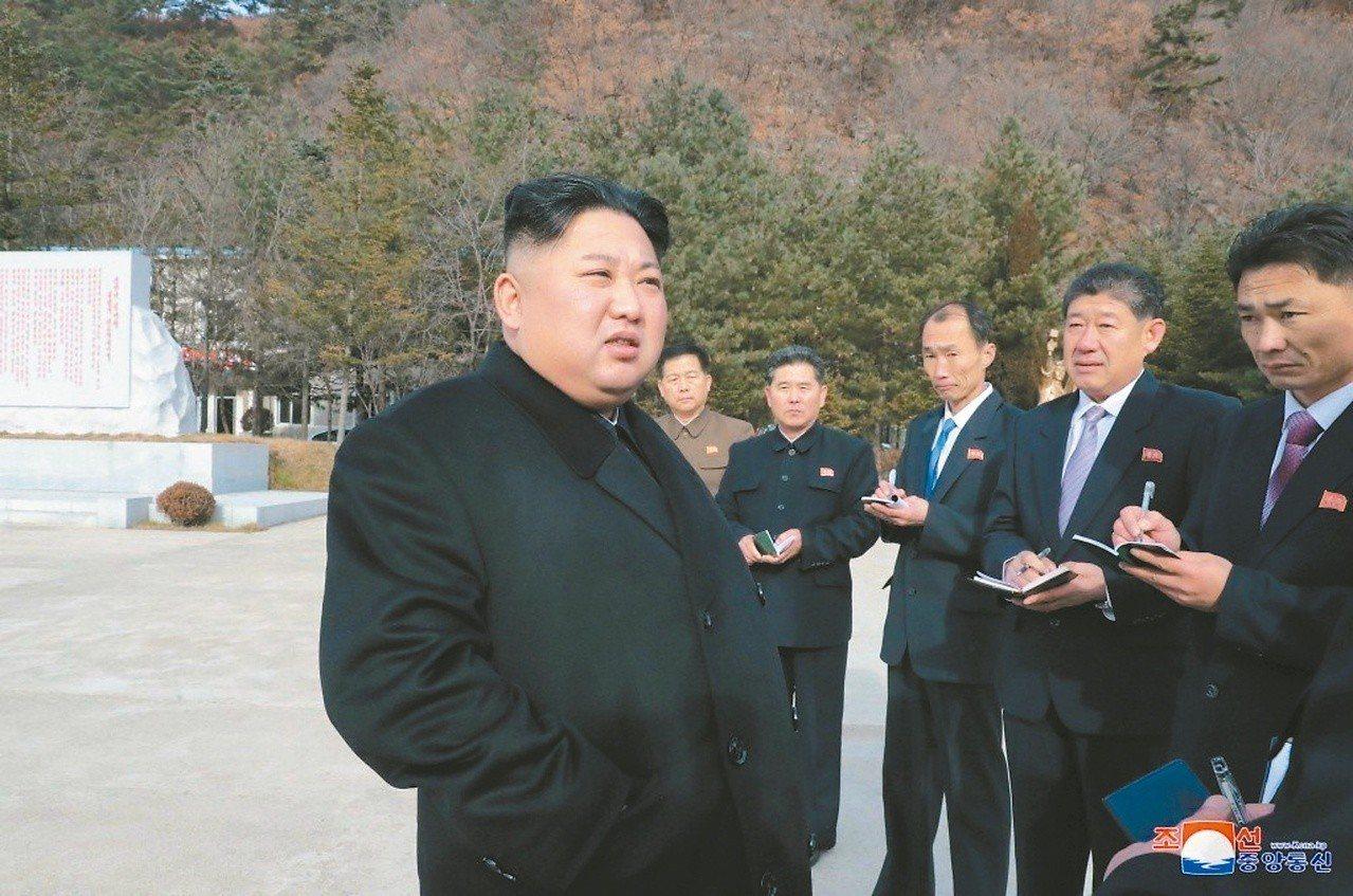 南韓民意調查機構Realmeter公布民調顯示,有六成南韓民眾歡迎北韓領導人金正...