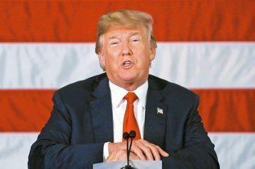 美國總統川普。 圖/聯合報系資料照片