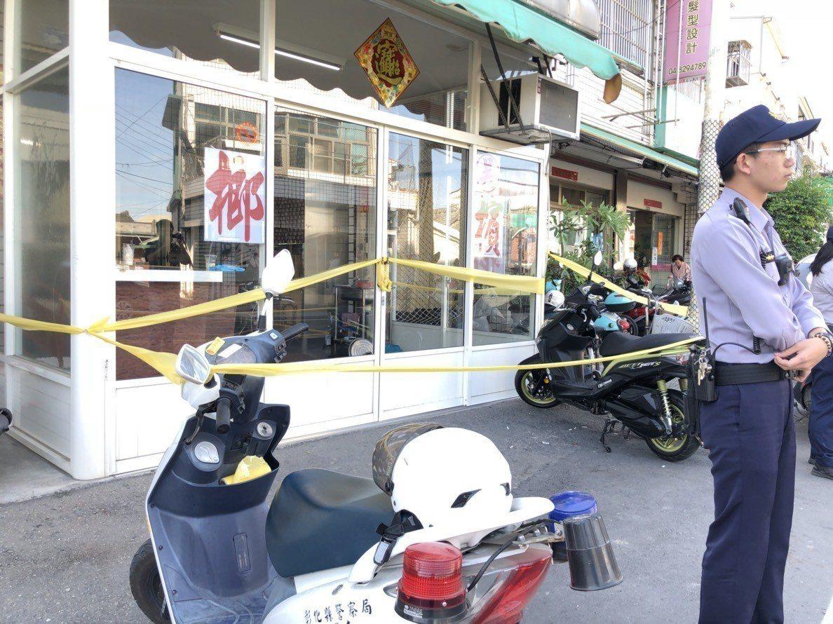 母親拿刀砍死前夫和15歲女兒,自己走到派出所報案。記者林敬家/攝影