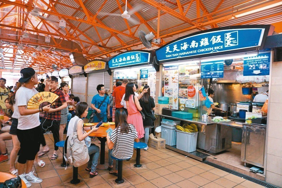 天天海南雞飯是當地著名的小販美食。 圖/葉孝忠