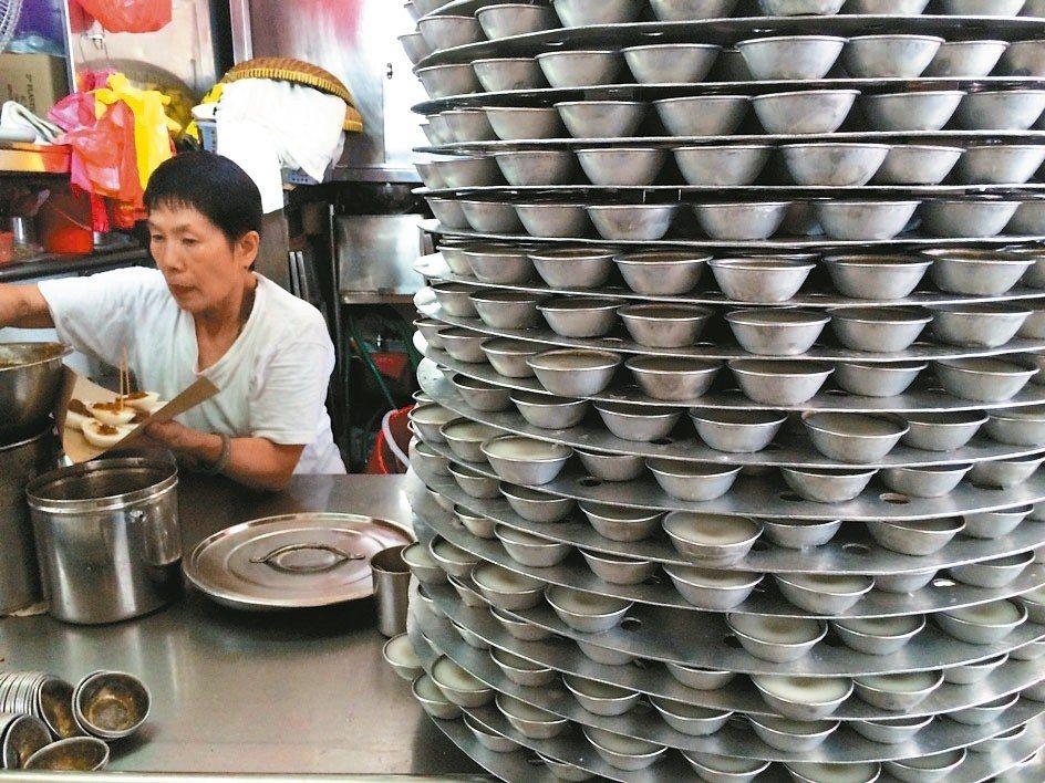 潮州水粿是當地人喜歡的早餐選擇。 圖/葉孝忠