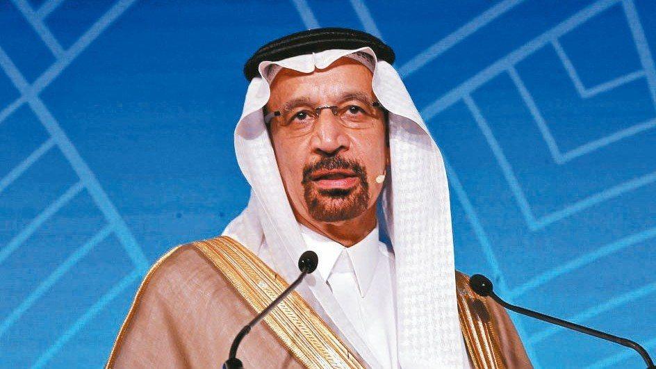 沙國能源部長法利赫(見圖)表示,一天減少100萬桶,市場就能恢復平衡。 路透