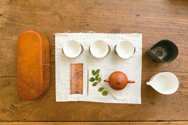 品味,行動茶組 小慢。 記者陳立凱/攝影